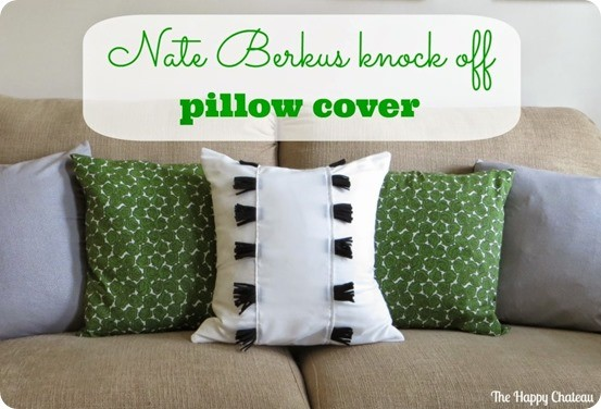 nate berkus knock off pillow