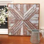 Wood Quilt Square Wall Art–No Cutting Required!