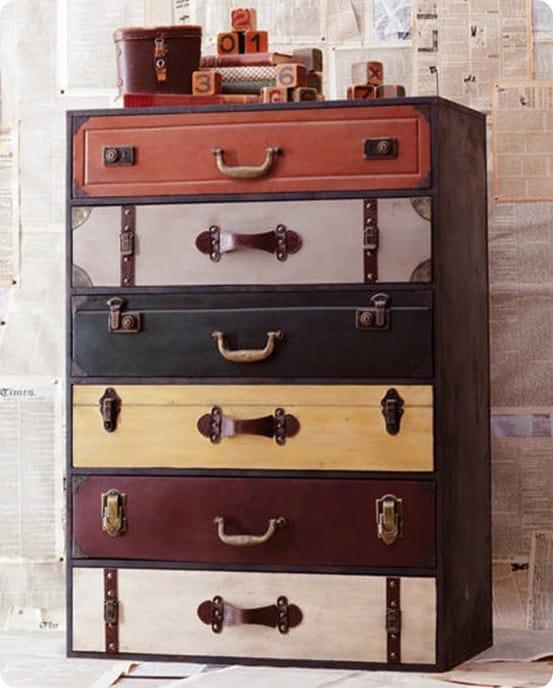 trenton suitcase chest