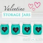 Baby Food Jars to Valentine's Day Décor