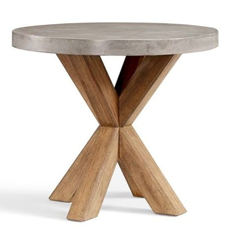 Abbott Concrete Top Round Bistro Table