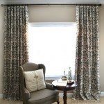 Stenciled Drop Cloth Curtains