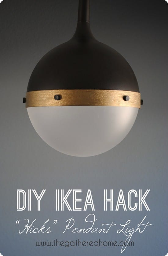 Diy Home Decor Ikea Hack Hicks Pendant