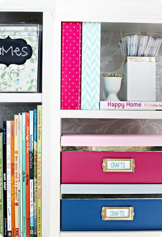Kate Spade Inspired Storage Boxes