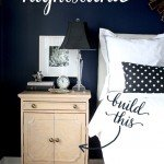 Romantic Nightstand with Turned Legs