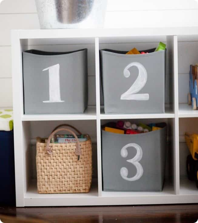 Number Storage Cubes For The Play Room Knockoffdecor Com