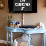 No-Sew Cord Cover