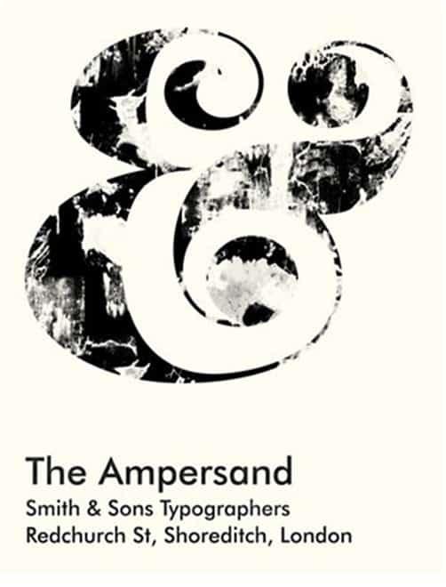 Ampersand Giclee Print