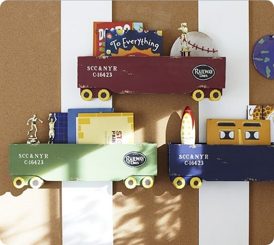 Box Train Shelf from Pottery Barn Kids