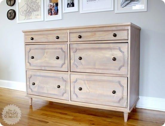 DIY Furniture Ballard Designs Inspired Dresser