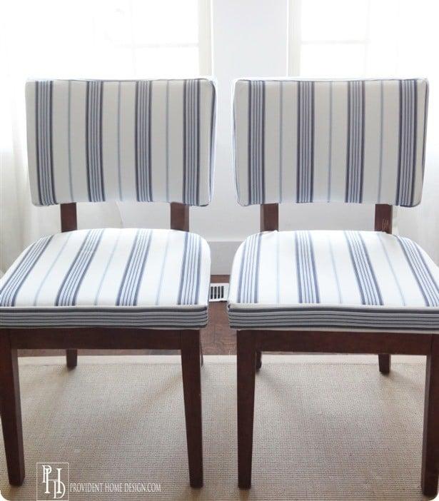 DIY Reupholstering Tutorial