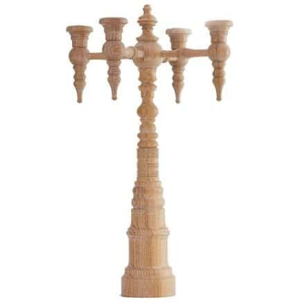 Dunes and Duchess 4-Arm Candelabra Classique-Limed