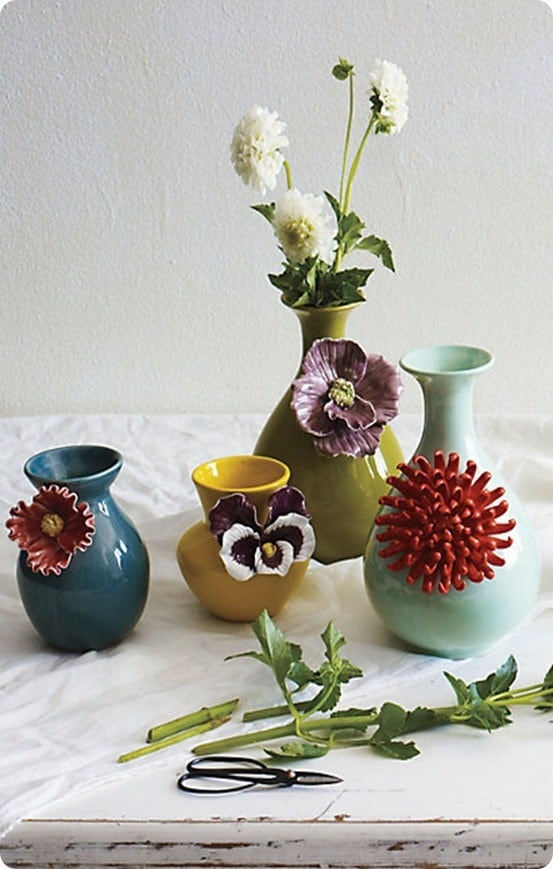 Anthropologie Flower Vases