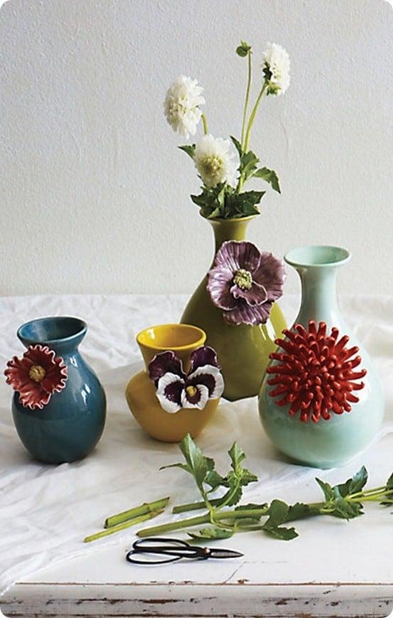 Anthropologie Flower Vases