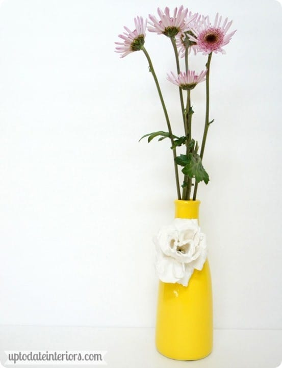 Anthropologie Inspired Flower Vase
