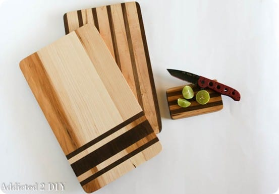 Anthropologie Inspired Grain Sack Cutting Boards