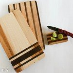 Maple and Walnut Grain Sack Cutting Boards