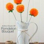 Make a Flower Bouquet–from Yarn!