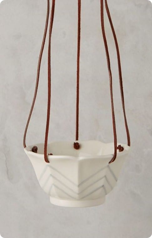 Candy Dish Hanging Pot