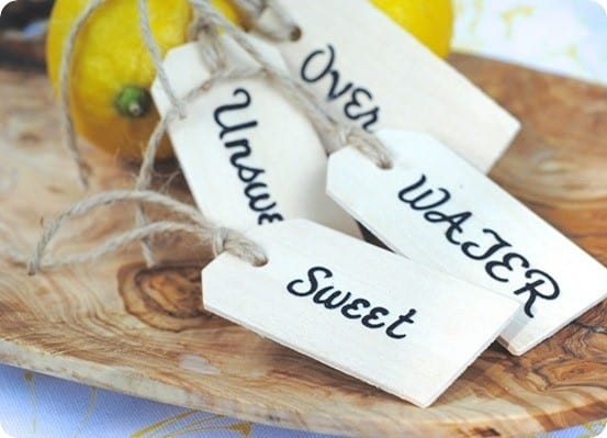 DIY Beverage Tags