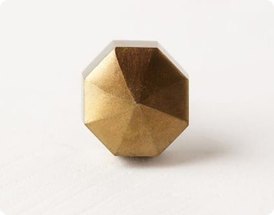 Faceted Orb Knobs from Anthropologie