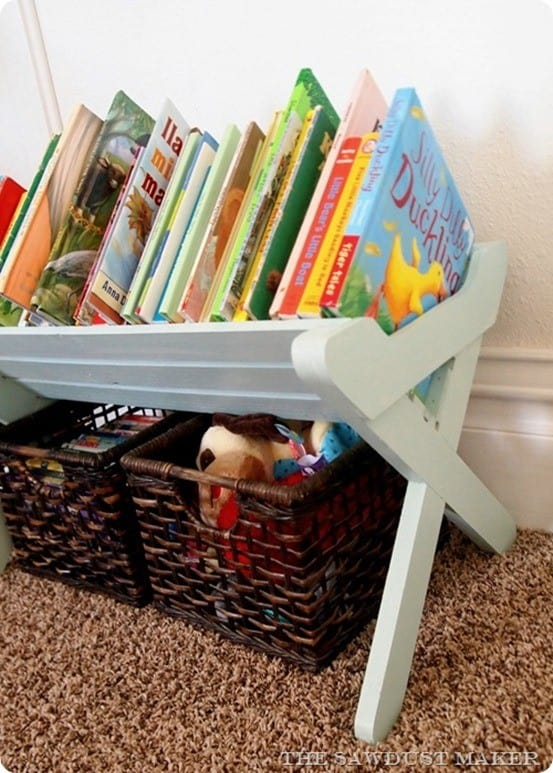 Land of Nod Inspired Children's Book Caddy