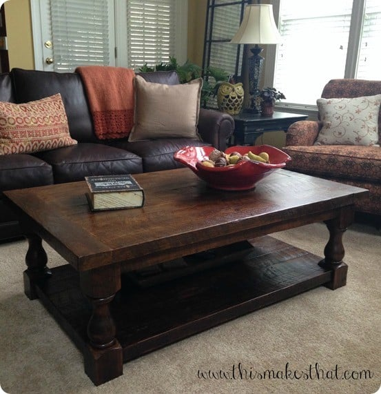 Pottery Barn Benchwright Coffee Table Seadrift: Reclaimed Wood Coffee Table