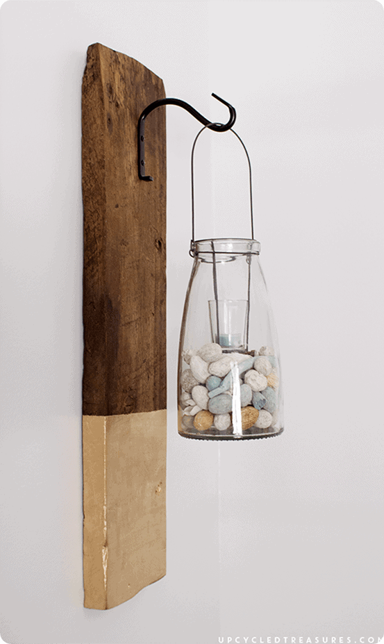 Anthropologie Inspired Modern Rustic Wall Lanterns