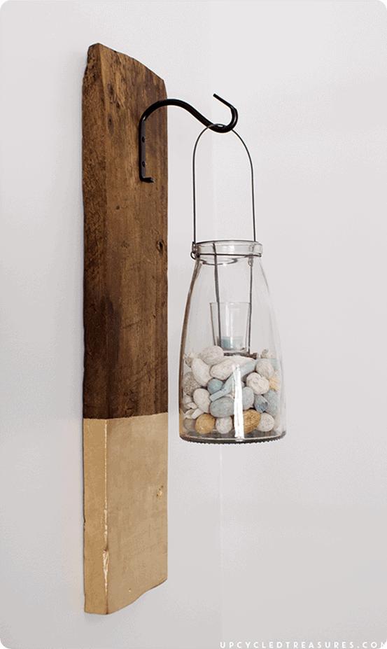 Anthropologie Inspired Modern Rustic Wall Lanterns