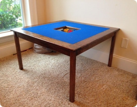 Free DIY Lego Table Plans