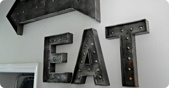 How to Make a Faux Metal Sign