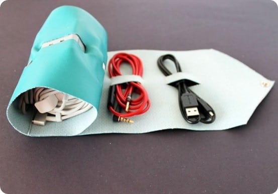 How to Make a Travel Cord Roll