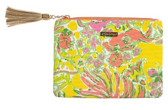 Lilly Pulitzer for Target Women's Pouch with Tassle - Happy Place