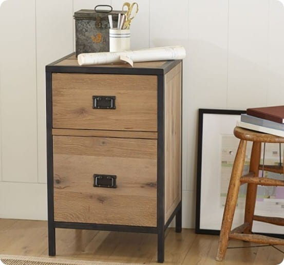 Lincoln 2-Drawer File Cabinet