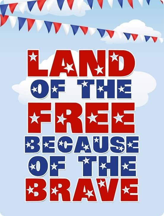 Memorial Day Free Printable