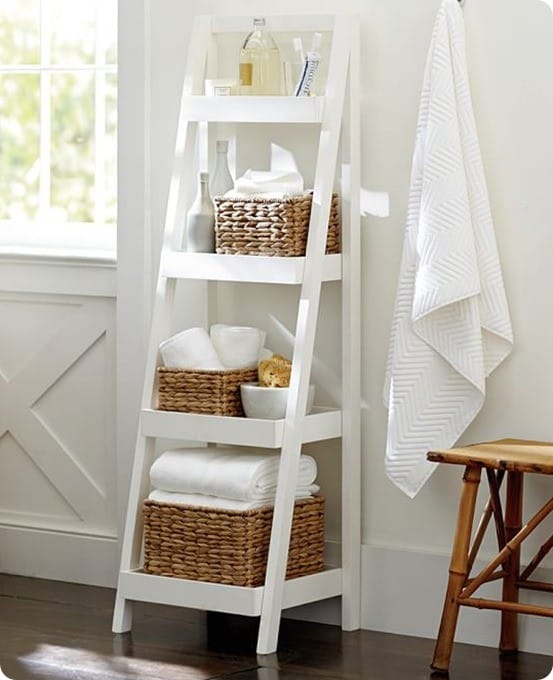 Pottery Barn Floor Standing Ladder