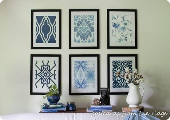 Framed Wallpaper Samples