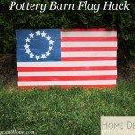 Distressed Wood American Flag