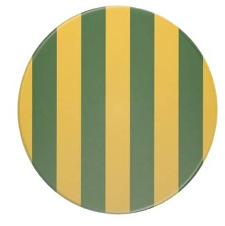 Striped Beverage Coasters