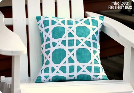 Pillows add comfort and style to every patio!