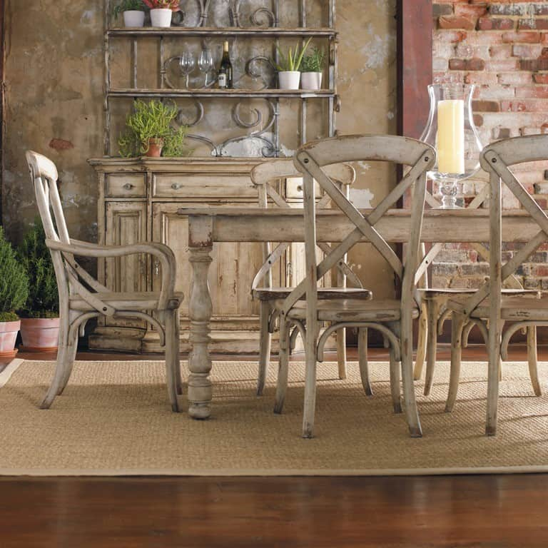 French farmhouse dining table makeover for Farmhouse dining room table set