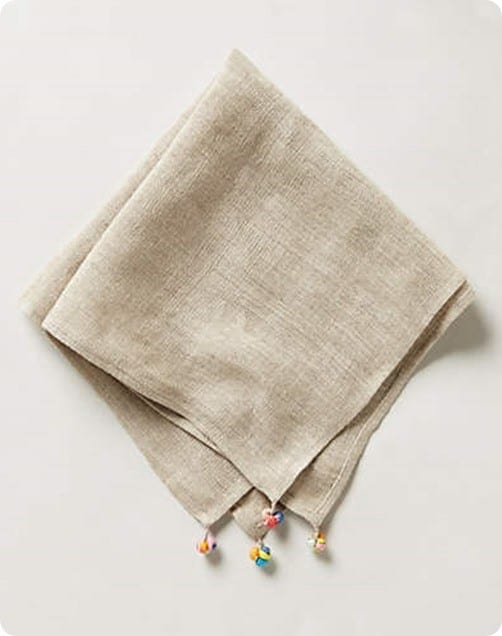 Chindi Napkin from Anthropologie