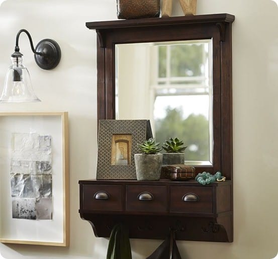 Classic Entryway Organizer from Pottery Barn