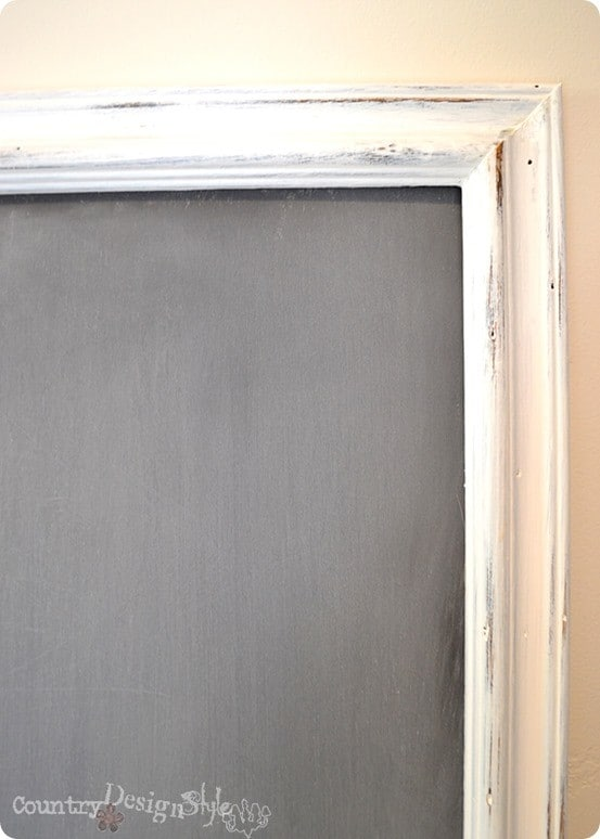 DIY Chalkboard from a Picture Frame