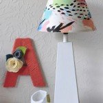 Abstract Art Painted Lampshade