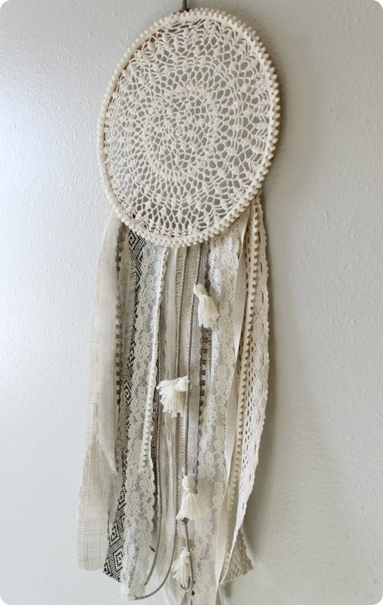 DIY Dream Catcher inspired by Urban Outfitters