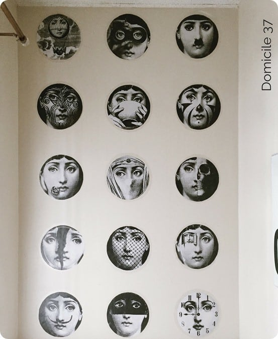 DIY Home Decor ~ Fornasetti Inspired Faux Wallpaper
