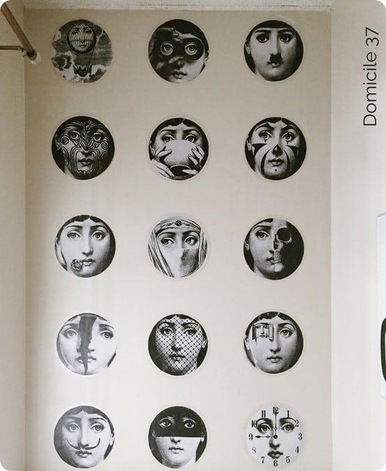 DIY Home Decor ~ Fornasetti Inspired Faux Wallpaper