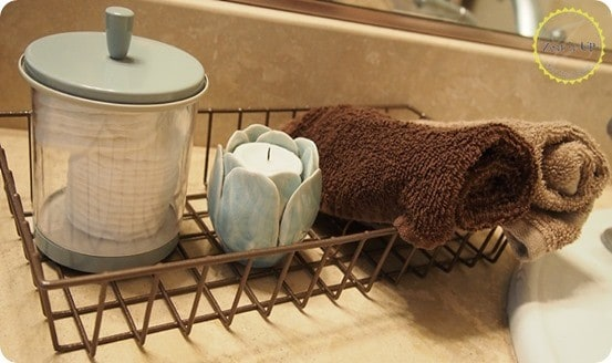 DIY Industrial Wire Baskets inspired by Anthropologie