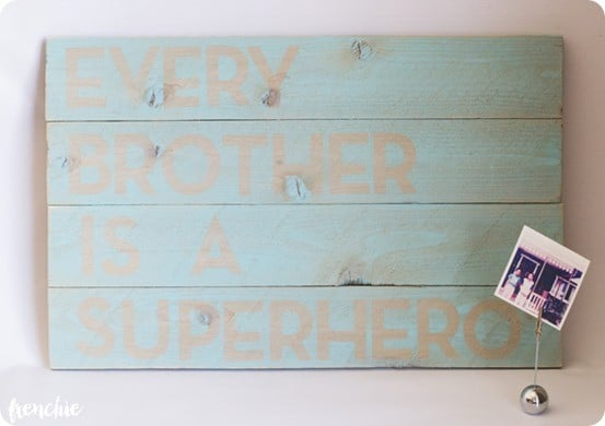 Every Brother is a Superhero Artwork inspired by Pottery Barn